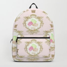 French Patisserie Macarons Backpack