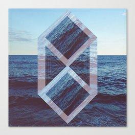 Peace At Sea Canvas Print