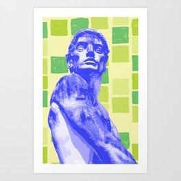 The Gaze 6 Art Print