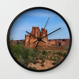 A Beautiful Place Wall Clock