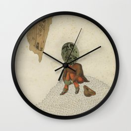 Devotion Delusion Wall Clock