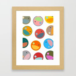 Utterly quackers  Framed Art Print