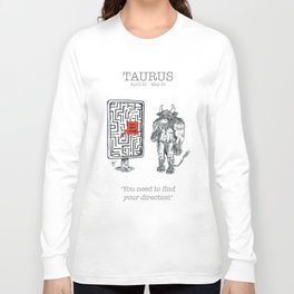 Astro Series - Taurus Long Sleeve T-shirt