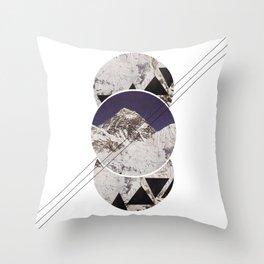 the mountain Throw Pillow