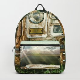 Vintage Chevy Truck Backpack