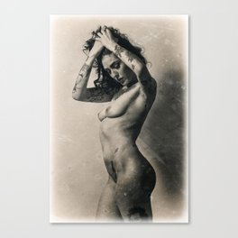 Leanna Banana Canvas Print