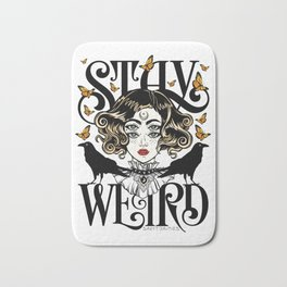 Rose and The Ravens | Stay Weird Bath Mat