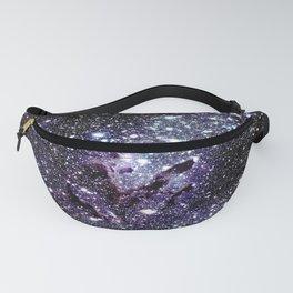 The Eagle Nebula : Pillars of Creation Deep Dark Blues & Purples Fanny Pack