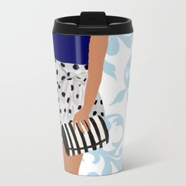 Fashion girl Metal Travel Mug