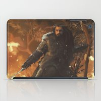 thorin iPad Cases featuring Thorin by PrintsofErebor