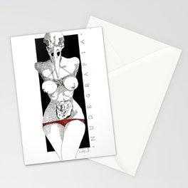 Nudegrafia 1 Stationery Cards