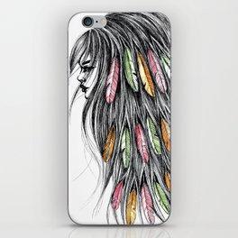 GIRLZ - FEATHER iPhone Skin
