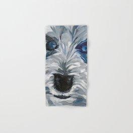 Sweet Pea Dog Portrait Hand & Bath Towel