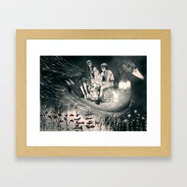 Hansel and Gretel and the Duck Framed Art Print