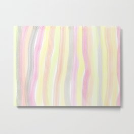 Striped color scheme Metal Print