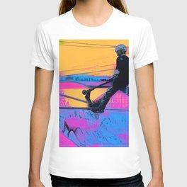 On Edge -  Stunt Scooter Artwork T-shirt