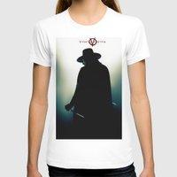 vendetta T-shirts featuring V for Vendetta (e4) by Ezgi Kaya