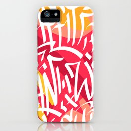 ink tag iPhone Case