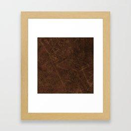 The Grunge Look Framed Art Print
