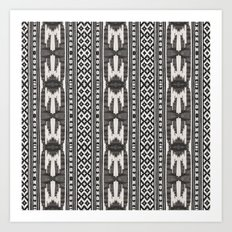 Tribal Textile Art Print