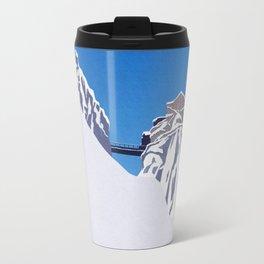 Chamonix ski Travel Mug