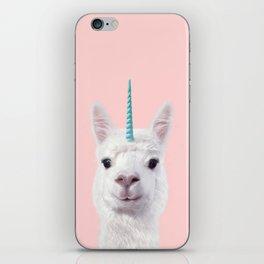 ALPACA UNICORN iPhone Skin