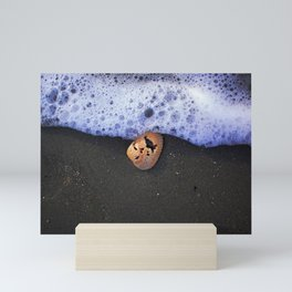 Foamy shell Mini Art Print