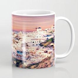 Santorini Sunset View Coffee Mug