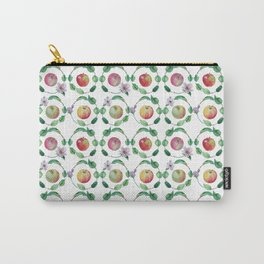 Paradise apples. Watercolor Carry-All Pouch