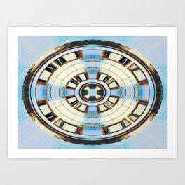 Compact Disk Art Print