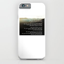 Psalm 121 iPhone Case
