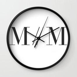 M // M Wall Clock