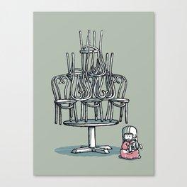 Poltergeist Canvas Print
