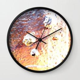Silver Toxin Wall Clock