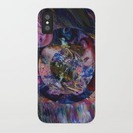 Space Marble Version 2 iPhone Case