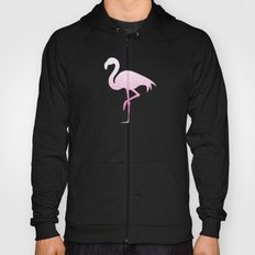 Gradient pink and white swirls doodles Hoody