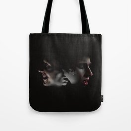 LAUGHING ON THE OUTSIDE Tote Bag