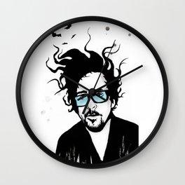Tim Burton Wall Clock
