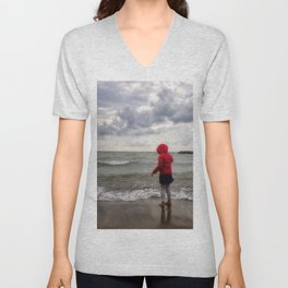Beach Girl Unisex V-Neck