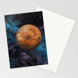 Mars and Stars Stationery Cards