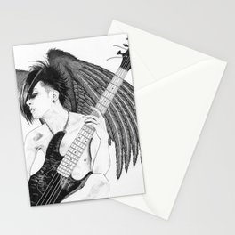 Winged Tomo Stationery Cards
