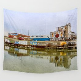 The Beauty of Urban Decay Wall Tapestry