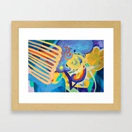 Places Framed Art Print