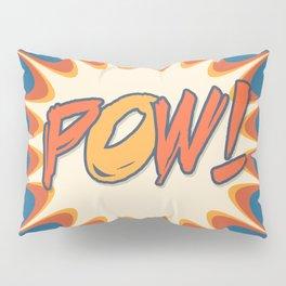 POW! Polka Dot Vintage Graphic Novel Art Pillow Sham