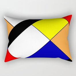 Mondrian #18 Rectangular Pillow