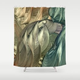 Monopods Shower Curtain