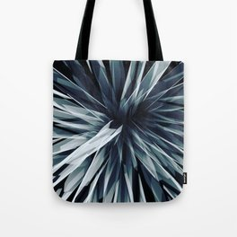 Perspective Facets-Retro Blue Tote Bag