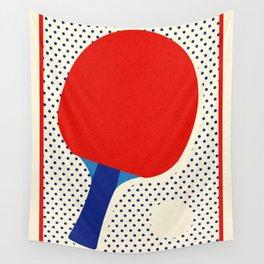 Ping Pong Dots Wall Tapestry