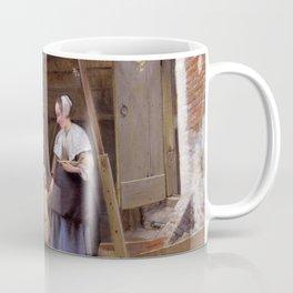 "Pieter de Hooch ""The Courtyard of a House in Delft"" Coffee Mug"