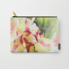 Water colour parrot tulip Carry-All Pouch